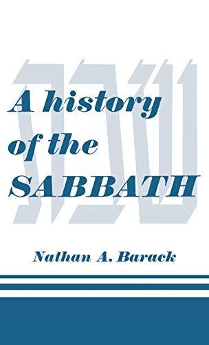 9780824604752: A history of the SABBATH