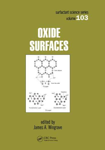 9780824700003: Oxide Surfaces (Surfactant Science)