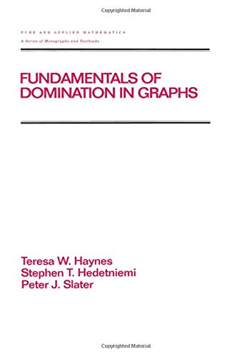 9780824700331: Fundamentals of Domination in Graphs (Chapman & Hall/CRC Pure and Applied Mathematics)