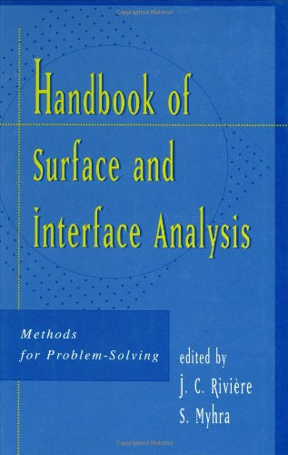 9780824700805: Handbook of Surface and Interface Analysis: Methods for Problem-Solving