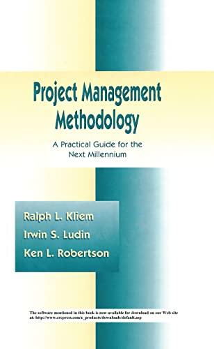 Project Management Methodology: Ralph L. Kliem