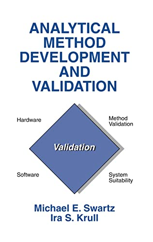 9780824701154: Analytical Method Development and Validation