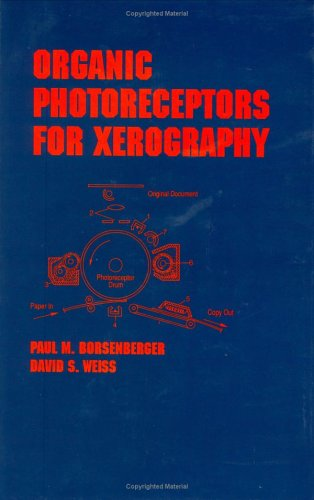 Organic Photoreceptors for Xerography (Hardback): David S. Weiss