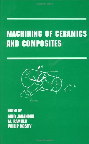 9780824701789: Machining of Ceramics and Composites (Manufacturing Engineering and Materials Processing)