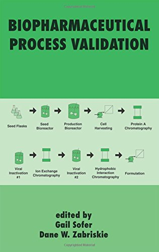 9780824702496: Process Validation in Manufacturing of Biopharmaceuticals: Guidelines, Current Practices, and Industrial Case Studies (Biotechnology and Bioprocessing Series)