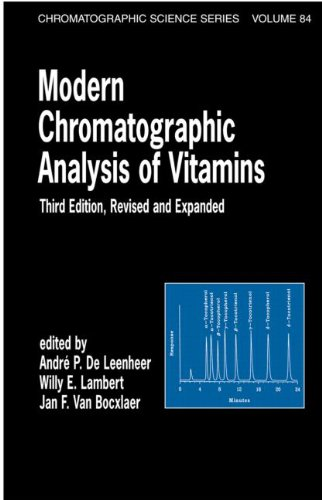9780824703165: Modern Chromatographic Analysis Of Vitamins: Revised And Expanded (Chromatographic Science Series)
