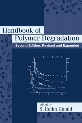 9780824703240: Handbook of Polymer Degradation, Second Edition, (Environmental Science & Pollution)