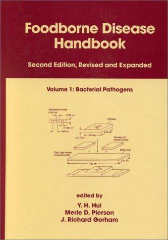 9780824703370: Foodborne Disease Handbook, Vol. 1: Bacterial Pathogens
