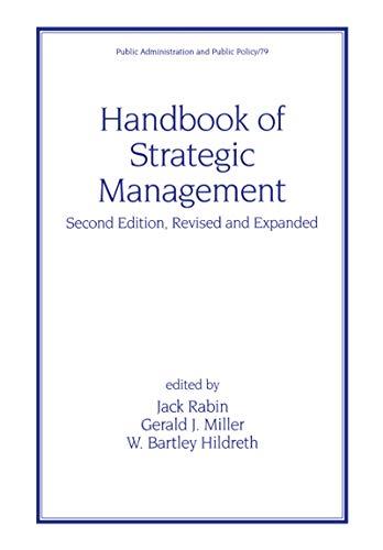 9780824703394: Handbook of Strategic Management