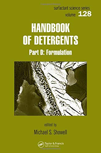 9780824703509: Handbook of Detergents, Part D: Formulation: 128 (Surfactant Science)
