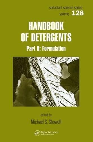 9780824703509: 128: Handbook of Detergents, Part D: Formulation (Surfactant Science)