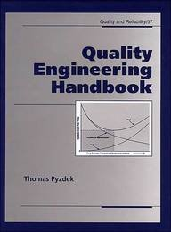 9780824703653: Quality Engineering Handbook (Quality and Reliability)