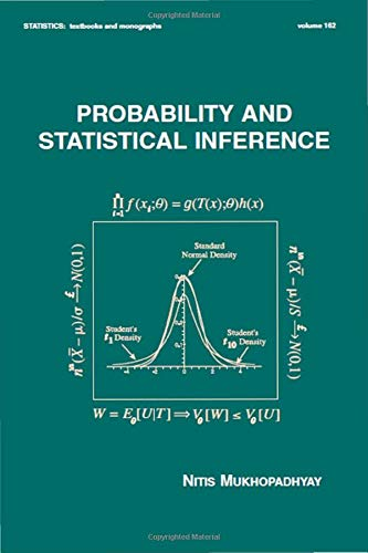9780824703790: Probability and Statistical Inference (Statistics:  A Series of Textbooks and Monographs)
