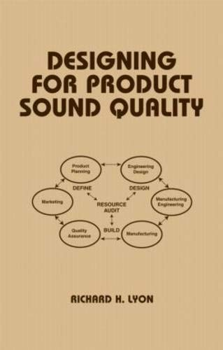 9780824704001: Designing for Product Sound Quality (Mechanical Engineering)
