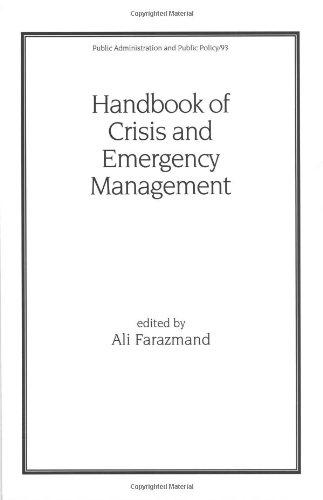 Handbook of Crisis and Emergency Management (Public