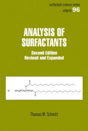 9780824704490: Analysis of Surfactants, Second Edition (Surfactant Science)