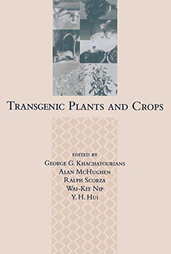 Transgenic Plants and Crops (Hardback)