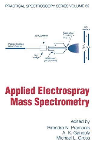 9780824706180: Applied Electrospray Mass Spectrometry (Practical Spectroscopy)