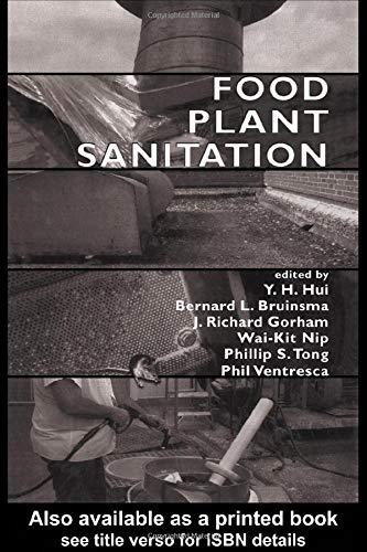 Food Plant Sanitation