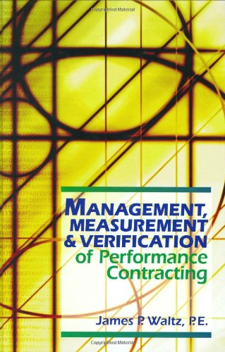 9780824709303: Management, Measurement & Verification of Performance Contracting