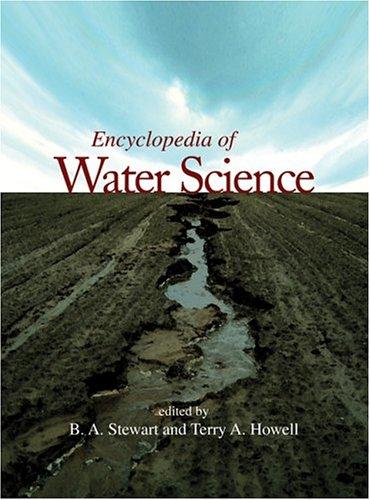 9780824709488: Encyclopedia of Water Science (Print) (New Dekker Encyclopedias) (Volume 7)