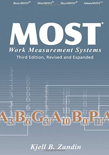 9780824709532: MOST Work Measurement Systems, Third Edition, (Industrial Engineering: A Series of Reference Books and Textboo)
