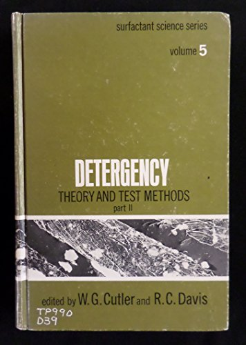 9780824711146: Detergency: Theory and Test Methods Part II