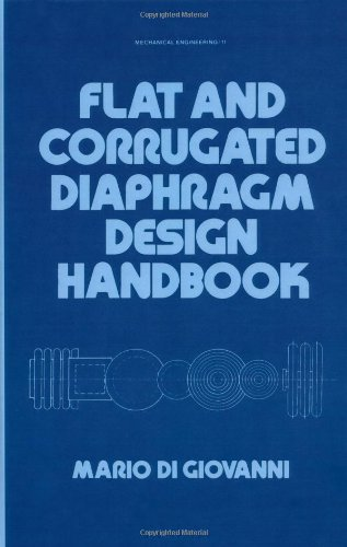 9780824712815: Flat and Corrugated Diaphragm Design Handbook (Mechanical Engineering)