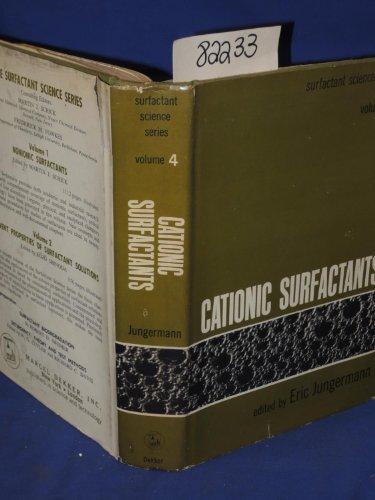 9780824713409: Cationic Surfactants (Surfactant Science)