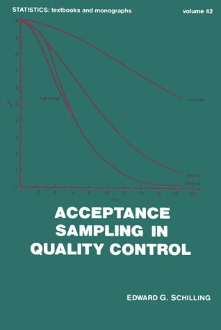 9780824713478: Acceptance Sampling in Quality Control, Second Edition (Statistics: Textbooks and Monographs)