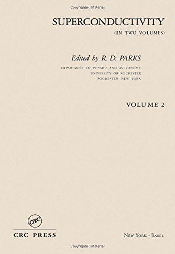 9780824715212: Superconductivity: In Two Volumes: Volume 2: Part 2