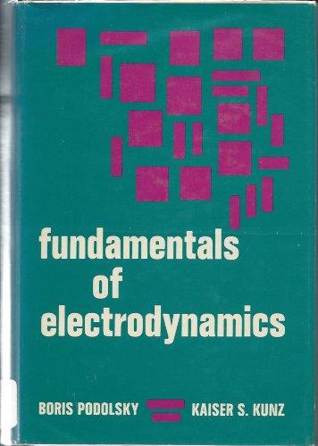 9780824715403: Fundamentals of Electrodynamics