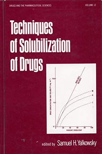 9780824715663: Techniques of solubilization of drugs (Drugs and the pharmaceutical sciences)