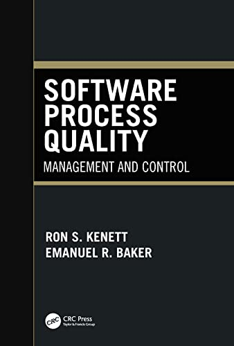 9780824717339: Software Process Quality: Management and Control (Computer Aided Engineering (New York, N.Y.), 6.)