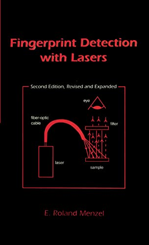9780824719746: Fingerprint Detection with Lasers, Second Edition,
