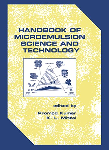 9780824719791: Handbook of Microemulsion Science and Technology