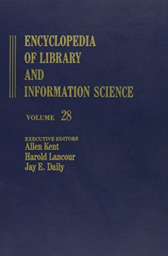 9780824720285: 028: Encyclopedia of Library and Information Science: Volume 28 - The Smart System to Standards for Libraries (Library and Information Science Encyclopedia)