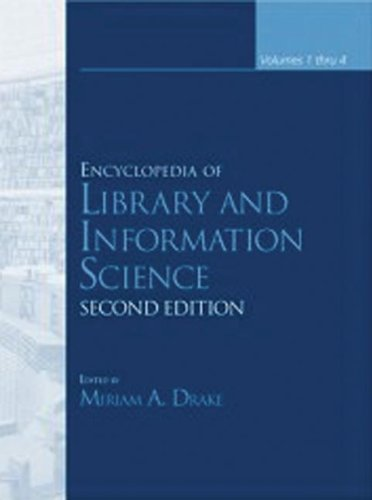 9780824720759: Encyclopedia of Library and Information Sciences, Third Edition (Online/Print version): Encyclopedia of Library and Information Science, Second Edition (Encyclopedia of Library & Information Science)