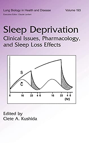 9780824720940: Sleep Deprivation: Clinical Issues, Pharmacology, and Sleep Loss Effects (Lung Biology in Health and Disease)
