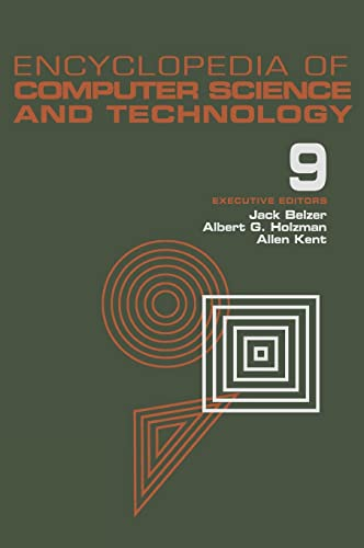 Encyclopedia of Computer Science and Technology, Volume 9: Generative Epistemology of Problem ...