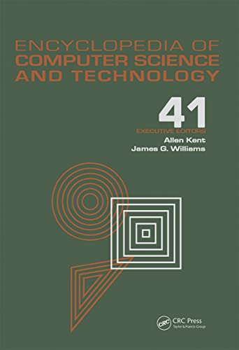 Encyclopedia of Computer Science and Technology: Volume 41 - Supplement 26 - Application of Bayesan...