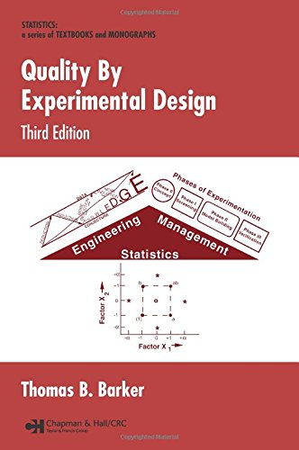 9780824723095: Quality By Experimental Design, 3rd Edition (Quality and Reliability)