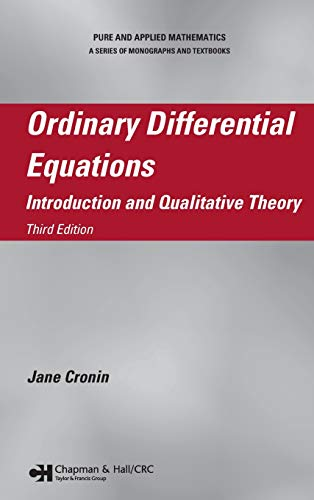 9780824723378: Ordinary Differential Equations: Introduction and Qualitative Theory, Third Edition