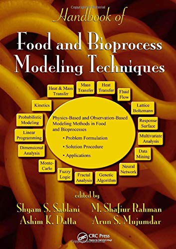 9780824726713: Handbook of Food and Bioprocess Modeling Techniques (Food Science and Technology)