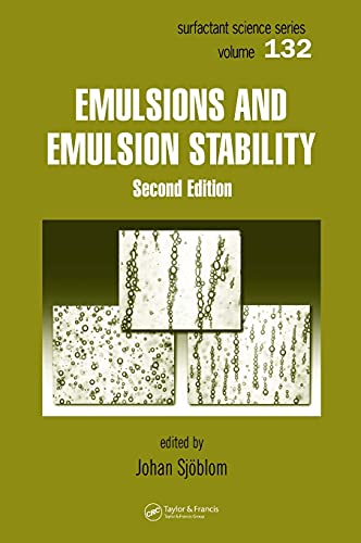 9780824726959: Emulsions and Emulsion Stability: Surfactant Science Series/61