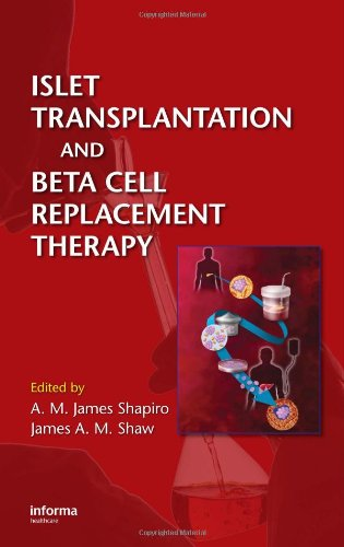 9780824728625: Islet Transplantation and Beta Cell Replacement Therapy