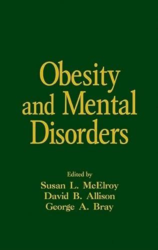 9780824729448: Obesity and Mental Disorders (Medical Psychiatry Series)