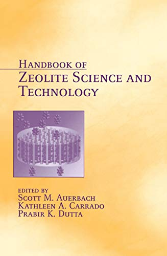 9780824740207: Handbook of Zeolite Science and Technology