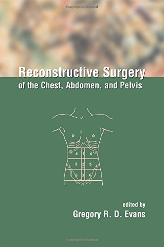9780824740450: Reconstructive Surgery of the Chest, Abdomen, and Pelvis