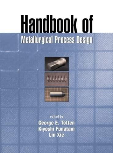 9780824741068: Handbook of Metallurgical Process Design (Materials Engineering)